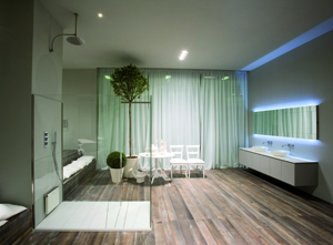 Le grand ecart des salles de bains femmes magazine for Miroir salle de bain high tech