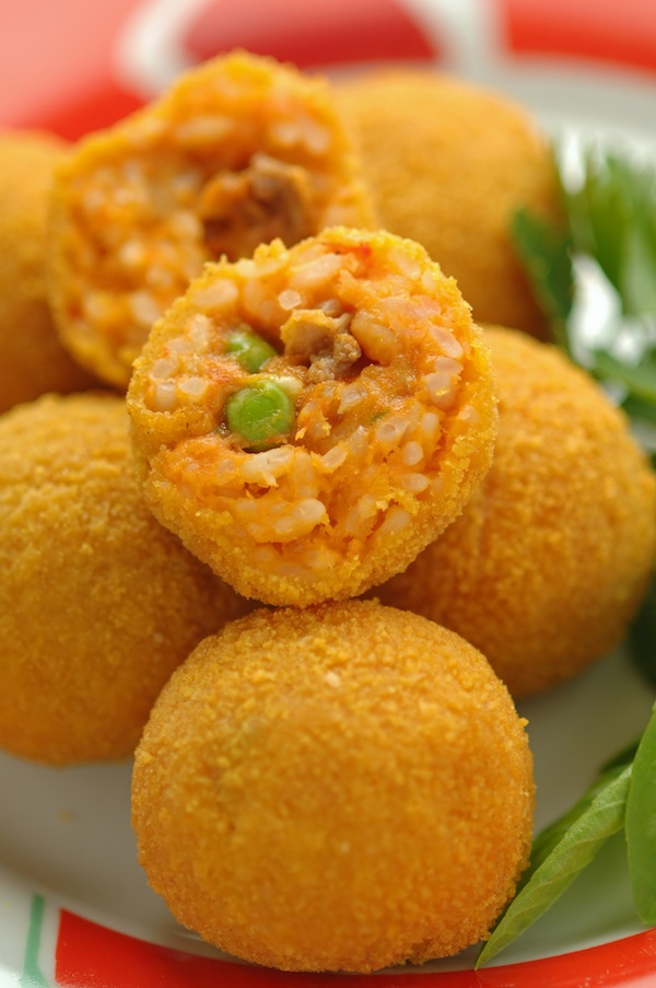 Arancini la sicilienne femmes magazine - Cuisine sicilienne arancini ...