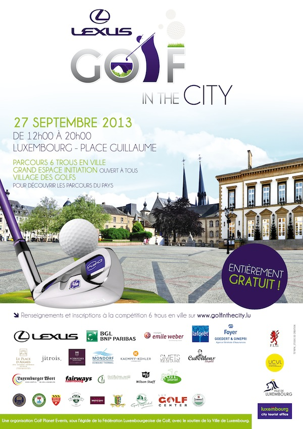 luxembourg-golf in_the_city-septembre-lexus-ville_de_luxembourg-federation_luxembourgeoise_de_golf