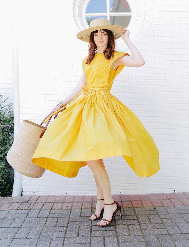 Tendance mode jaune
