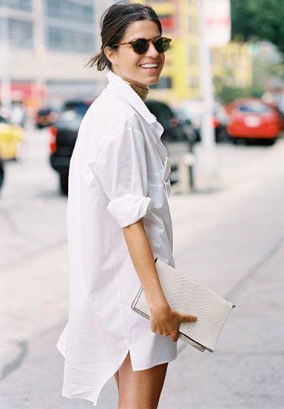 Chemise blanche en robe – Robes à la mode de 2018-2019 ff98cb8f92f2