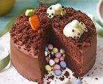 Un chocolate cake pinata