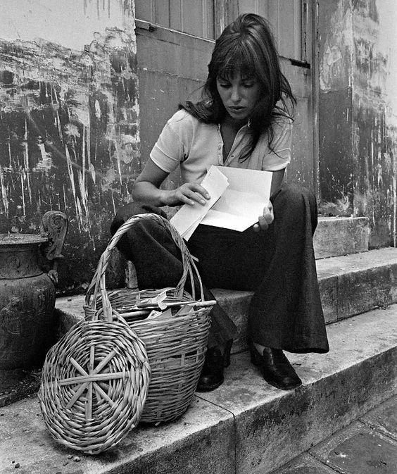 Panier Osier Jane Birkin : Il n y a que la paille qui m aille femmes magazine